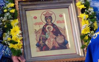 История и значение иконы Божьей матери «Державная»