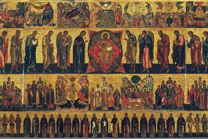 Икона «Всех святых»: история праздника