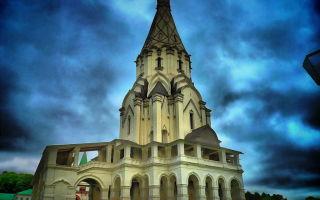 В честь чего была возведена церковь Вознесения в Коломенском