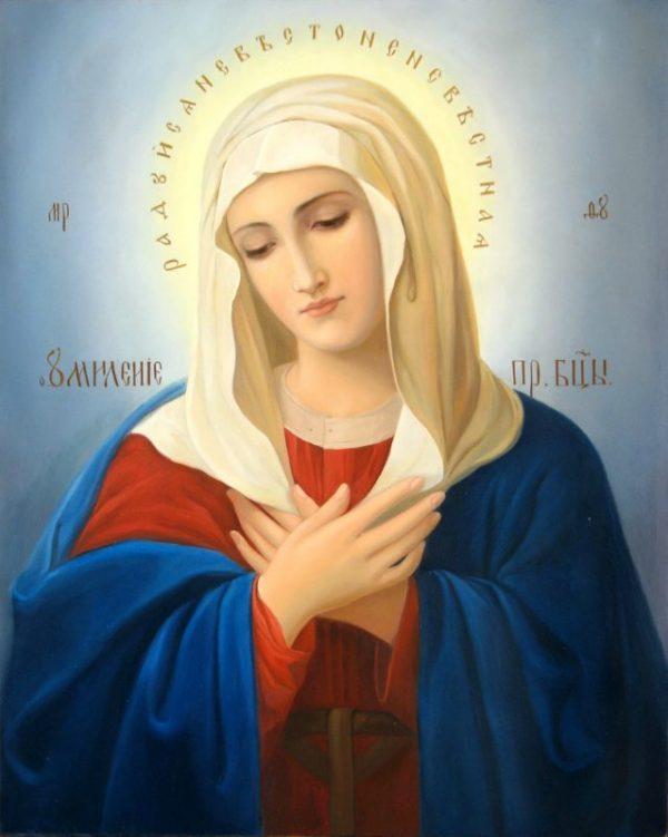 Икона «Покров Пресвятой Богородицы» (описание)