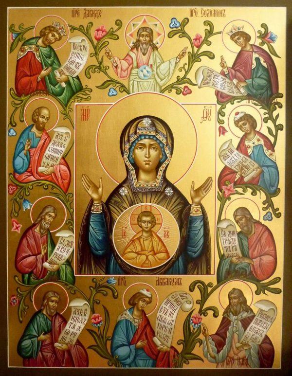 """Икона Божьей Матери """"Знамение"""": в чем помогает, значение"""
