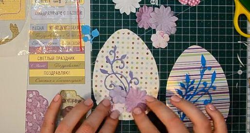Как сделать открытку на Пасху своими руками