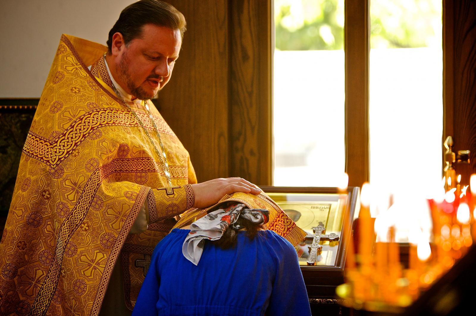 Православные таинства в картинках