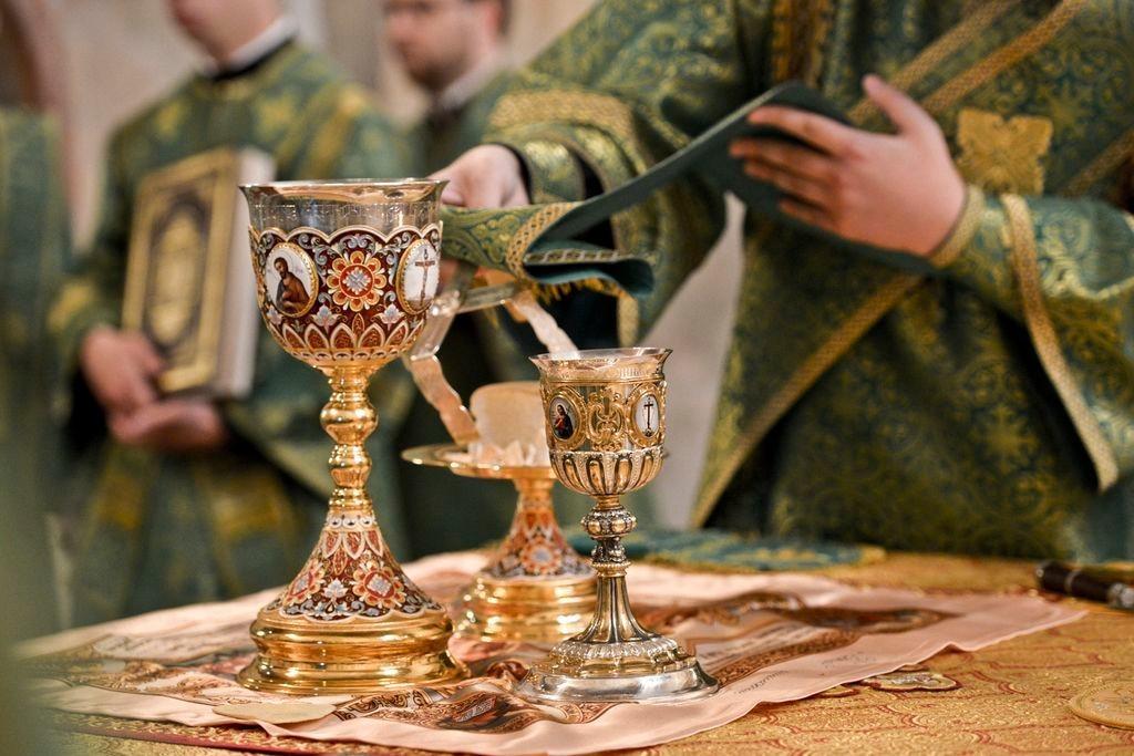 Православная молитва перед исповедью и причастием