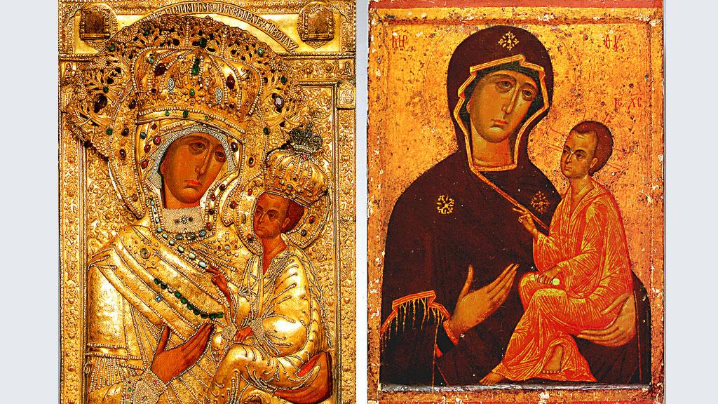 Молитва перед иконой Тихвинской Божьей Матери о детях