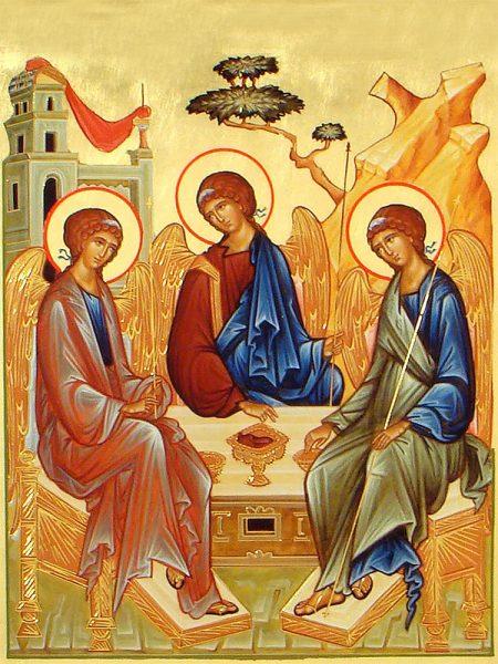 В чем помогает и каково значение иконы «Святая Троица»