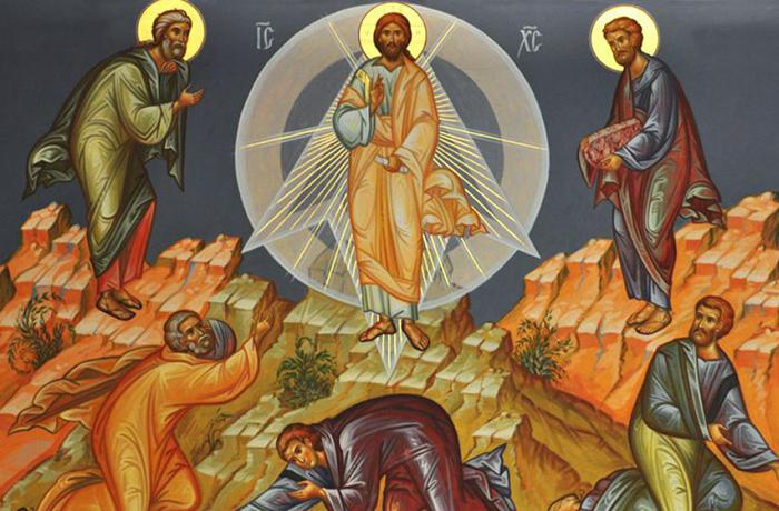 Что за праздник Преображение Господне
